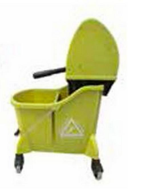 Mop Bucket & Wringer Combo Downpress