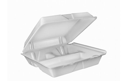 Foam Hinged Lid Container