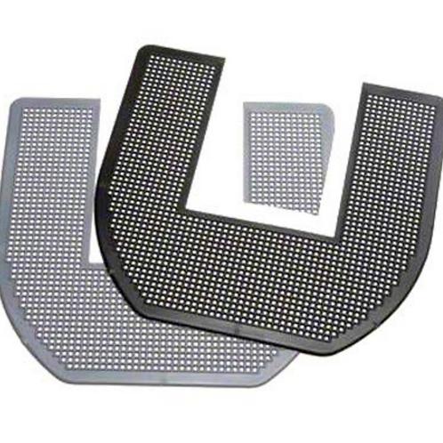 Sani Pro Absorbent Core Commode Mat - Black