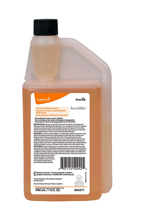 Diversity Accumix Stench and Stain Digester - 32oz