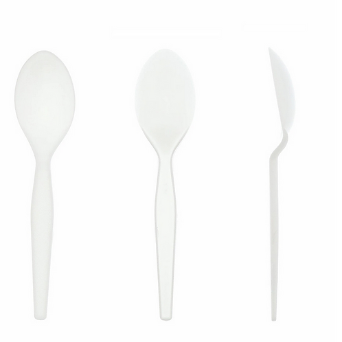 Spoon White Medium Weight Styrene