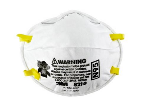 3M N95 Particulate Respiration Mask, Standard