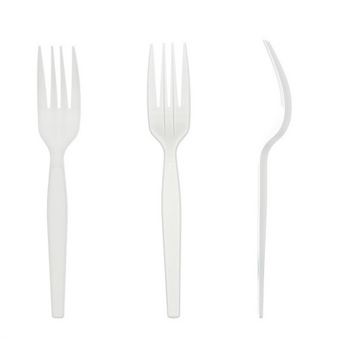Fork White Medium Styrene