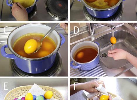 Ostern: Eierfarben mit natürlichen Färbesubstanzen