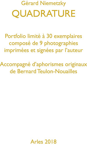 PORTFOLIO QUADRATURE