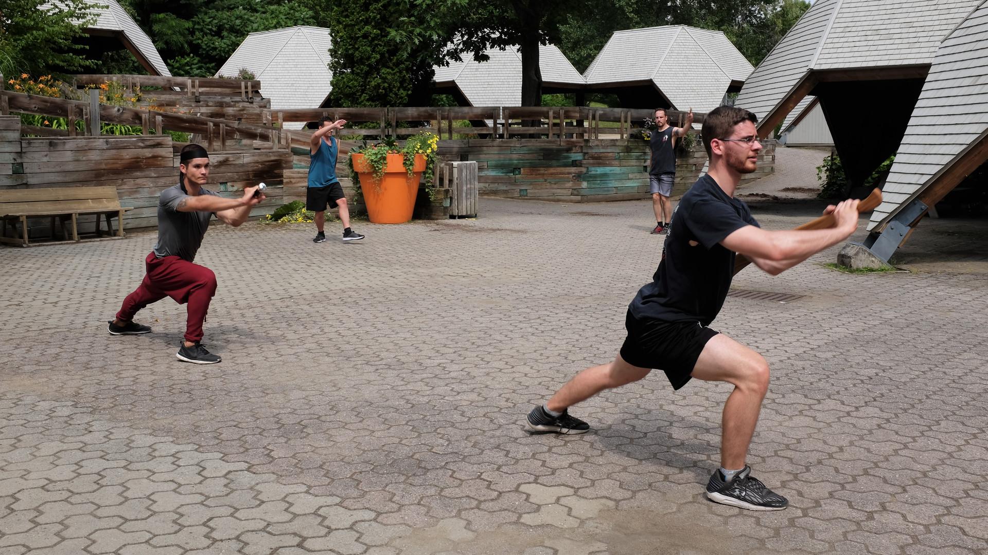 Entraînement d'été Kung Fu -YMAA Québec
