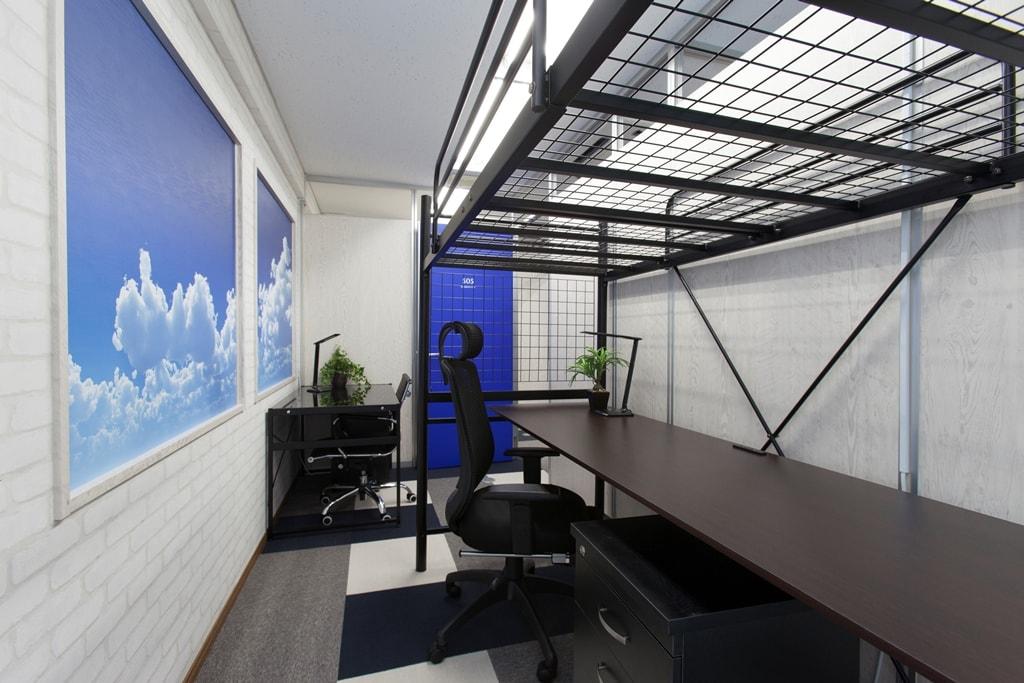 ロフト付き個室
