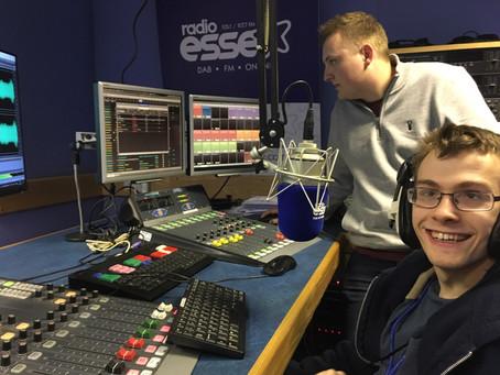 Radio Essex 105.1 make Rainbow Centre client's day!