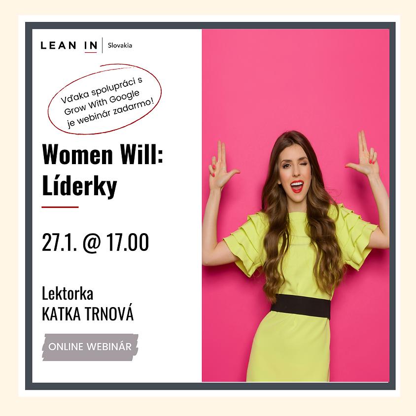 Women Will - Webinár pre Líderky  (1)
