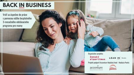 Podnikanie, part-time, freelancing [Back IN Business program]