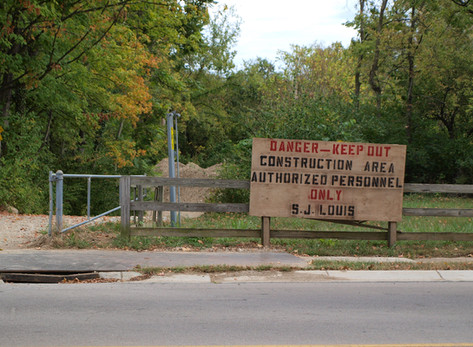 Schwartzwald Park under construction through December 22
