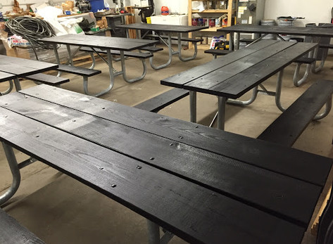 New Picnic Tables Coming to a Park Near You