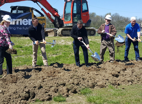 Groundbreaking Ceremony for Marcum Park