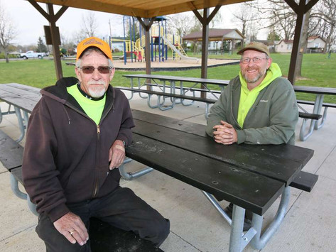Upgrades at Hamilton parks continued through winter
