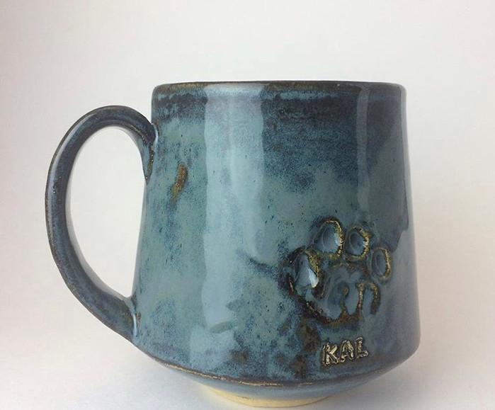 Pet Paw Mug Commission