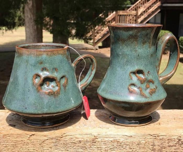 Pet Paw Mugs