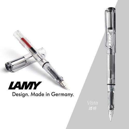 德國 LAMY SAFARI系列鋼筆(Vista-透明)