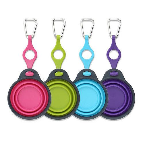 美國 DEXAS 掛扣摺疊式便攜飲食碗(大)
