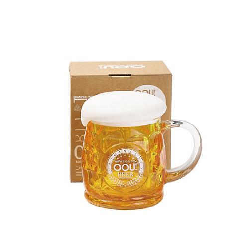 OOU!啤酒杯造型家用塑料杯/250ml/2色可選