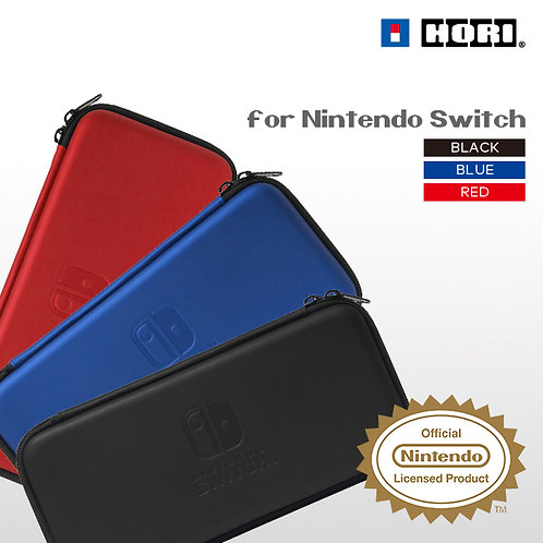 日版HORI Switch Slim Hard Pouch Case 輕便保護包 (三色可選)