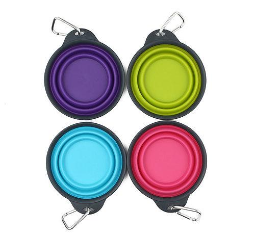 美國 DEXAS 掛扣摺疊式便攜飲食碗(小)