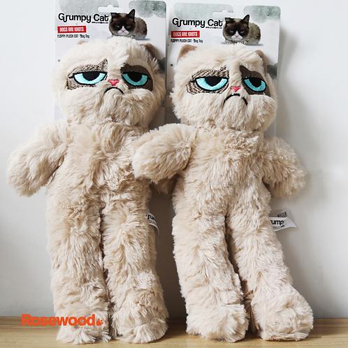 【美國】Grumpy Cat不爽貓-咬扯寵物玩具/37cm