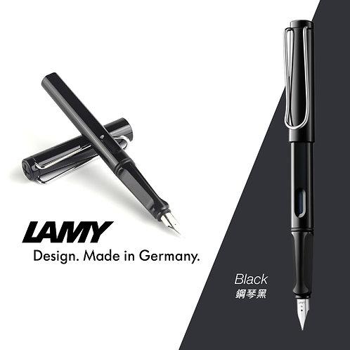 德國 LAMY SAFARI系列鋼筆(Black-鋼琴黑)