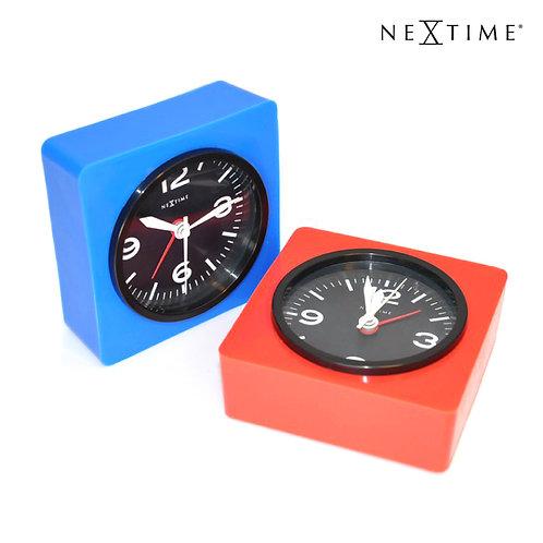 荷蘭鐘錶品牌NEXTIME-Real Time Silly矽膠鬧鐘