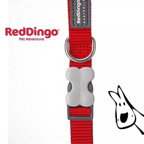 澳洲Red Dingo-骨頭形狀插扣狗狗頸圈/12色可選/免費平郵