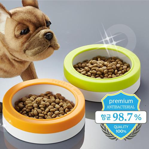 【韓國】 YOGI BOWL MINI 抗菌防漏毛孩飯碗/小型犬適用(3-6kg)