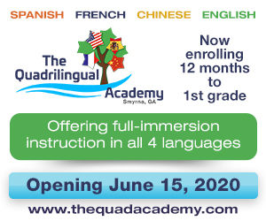 Family and Pet Guide, The Quadrilingual Academy ad
