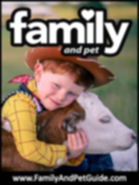 Family and Pet Guide magazine cover