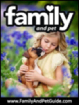 Family an Pet Guide magazine cover
