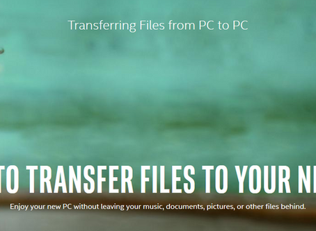 How to Transfer Files to Your New PC