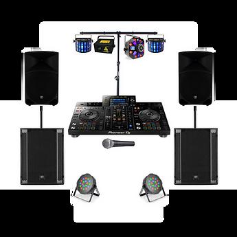 Advanced Professional DJ _ Lighting Pack