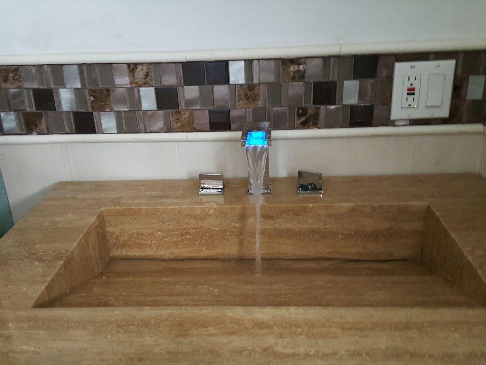LED Faucet Sold/Installed Nutley NJ