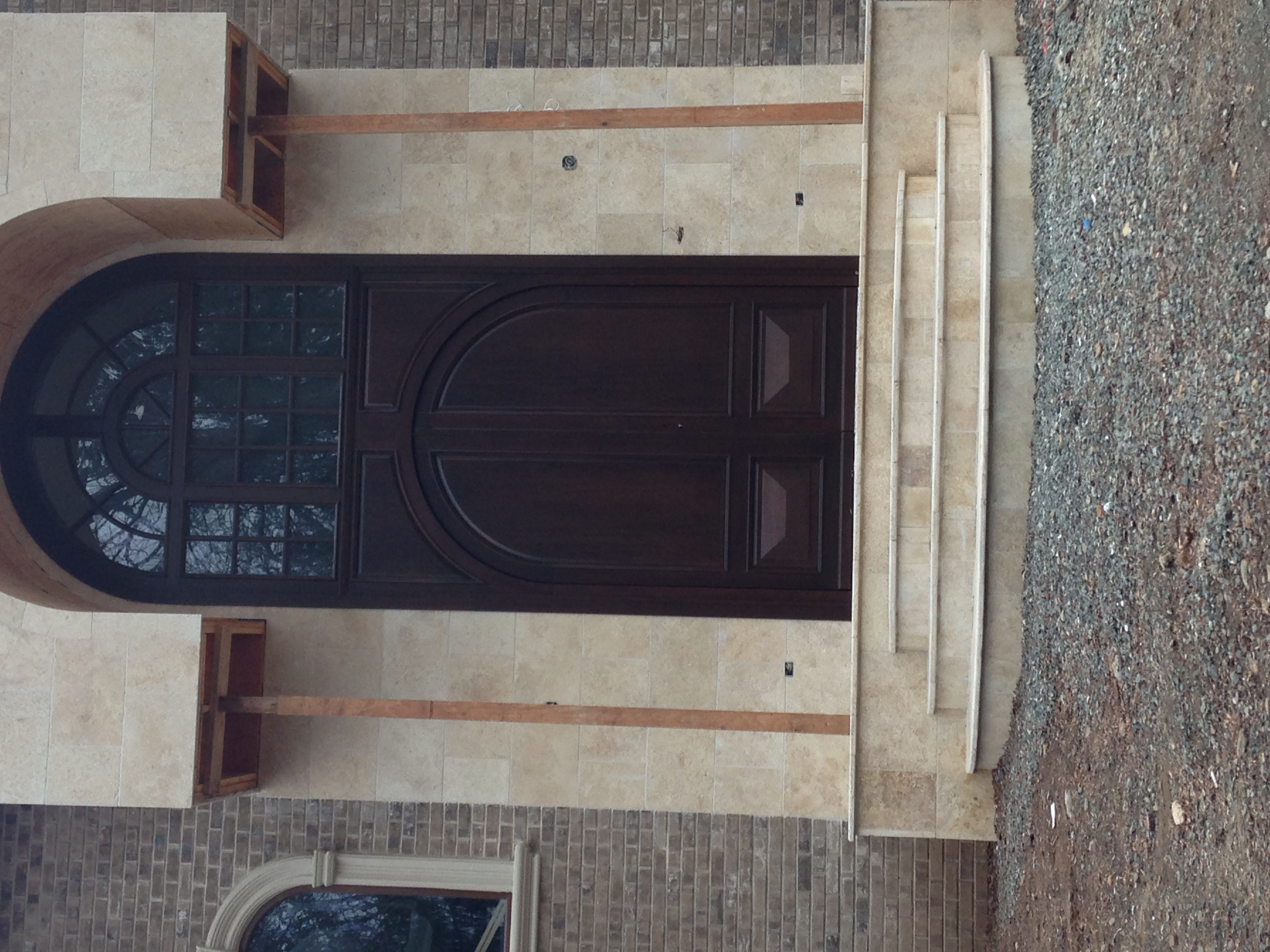 Custom Wood Door Installed In NJ
