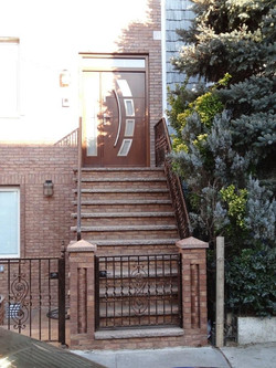 Custom Meranti Wood Door Brooklyn NY