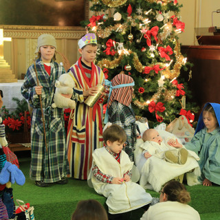 Christmas childrens pageant