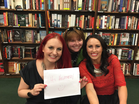 that time I met brittany angell & juli bauer