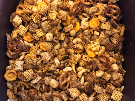 gluten-free slow cooker Chex mix