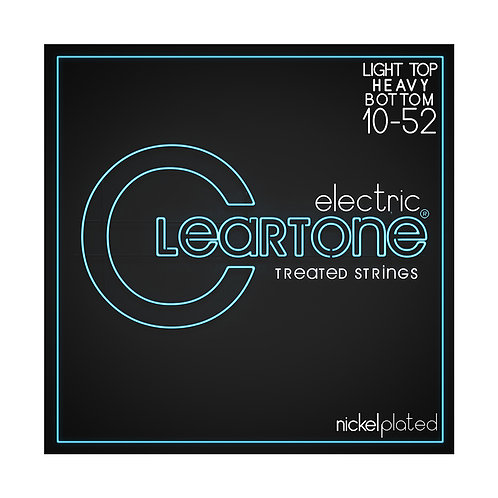 Cleartone Electric Strings - Nickel PlatedLight Top Heavy Bottom 10-52