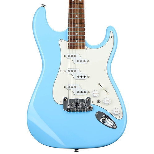 G&L Fullerton Deluxe Comanche, Himalayan Blue[Made in USA]
