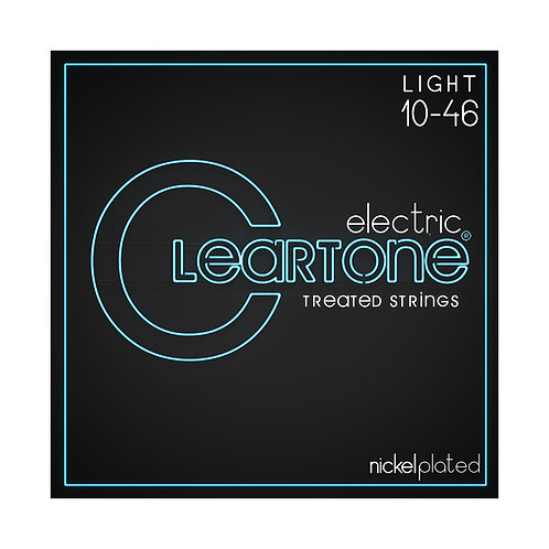 Cleartone Electric Strings - Nickel PlatedLight 10-46