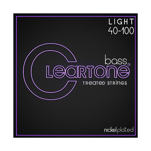 Cleartone Bass Strings Nickel Plated40-100