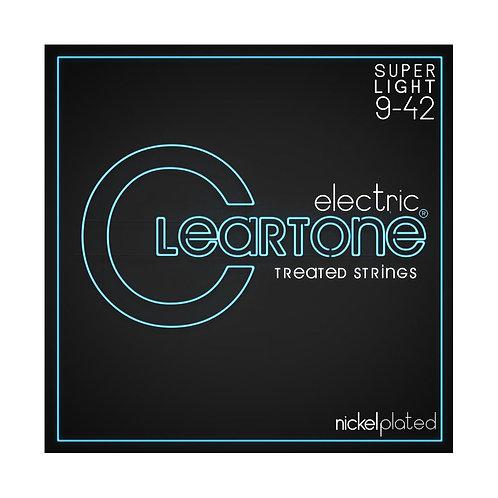 Cleartone Electric Strings - Nickel PlatedSuper Light 9-42