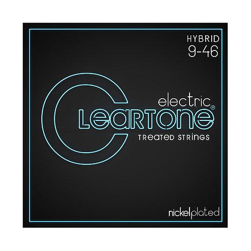 Cleartone Electric Strings - Nickel PlatedHybrid 9-46