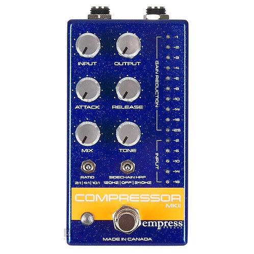 Empress Effects Compressor MKII (Blue)