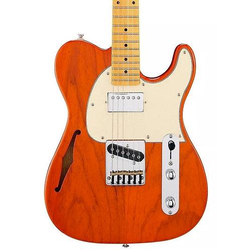 G&L Tribute ASAT Classic Bluesboy Semi-Hollow Clear Orange