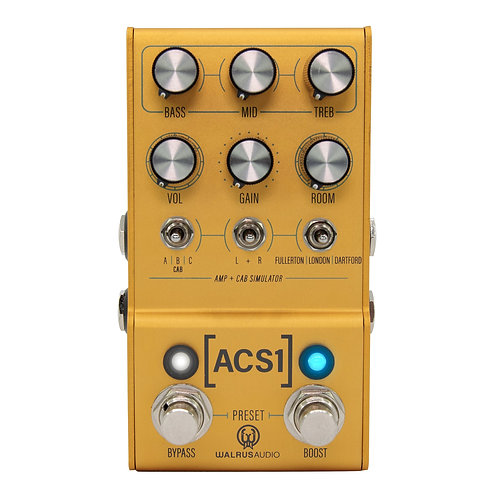 Walrus Audio Mako Series - ACS1 Amp + Cab Simulator